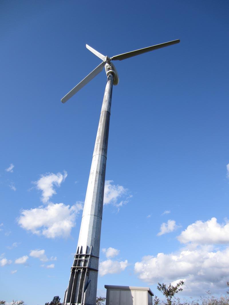 青森横浜町<BR>風力発電システム